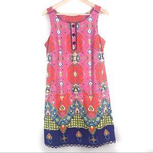Anthropologie Maeve Sleeveless Shift Dress Size 8